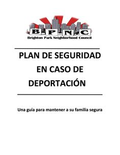 Download BPNC's Deportation Safety Plan today!