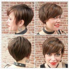 Stylish Short Hairstyles for Women 2015
