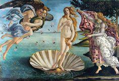 Botticelli The Birth of Venus – What is the meaning of this painting? Botticelli Die Geburt der Venus – Was bedeutet dieses Gemälde? Famous Paintings Michelangelo, Famous Art Paintings, Classic Paintings, Easy Paintings, Beautiful Paintings, Oil Paintings, Die Renaissance, Renaissance Kunst, Renaissance Paintings