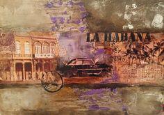 Habana gris Painting, Cuban Cigars, Gray, Painting Art, Paintings