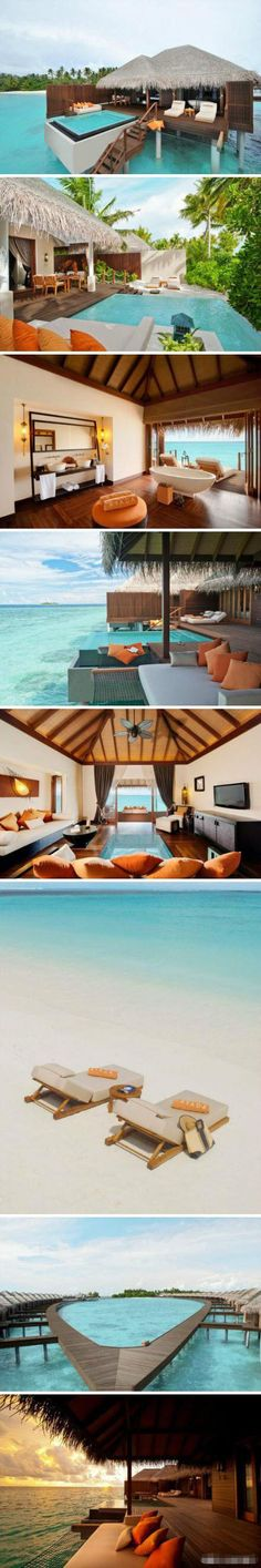 Maldives is my dream honeymoon place.