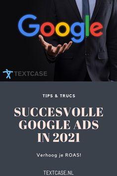 Google Ads ziet er tegenwoordig heel anders uit dan een aantal jaren geleden. Google verandert regelmatig de spelregels van het adverteren. Als bedrijf is het wel heel handig om te weten hoe je je Google Ads campagne optimaliseert voor een goede ROAS. Maar geen zorgen, want wij helpen je op weg met onze tips en trucs; succesvolle Google Ads in 2021. #google #googleads #adverteren #roi #roas