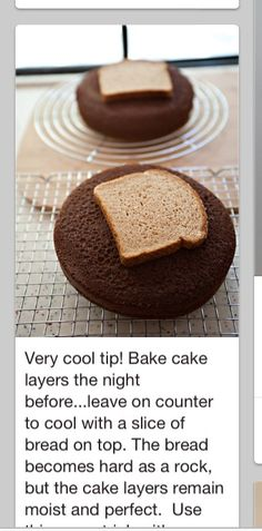Baking tip...put a slice in with cookies too..