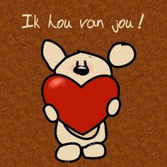 Ik hou van jou! - Beertje LIEF (Planet Puk ©)
