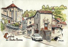 Caylus, Chantes Pleures by Cat Gout, via Flickr