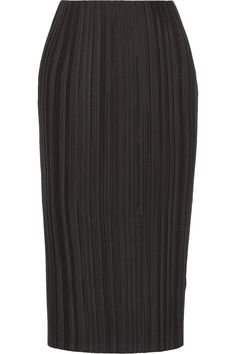 ADAM LIPPES Plissé-Satin Midi Skirt. #adamlippes #cloth #skirt