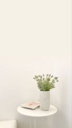Minimal Wallpaper, Soft Wallpaper, Aesthetic Pastel Wallpaper, Wallpaper Backgrounds, Aesthetic Wallpapers, Watercolor Wallpaper Phone, Plant Wallpaper, Flower Aesthetic, White Aesthetic