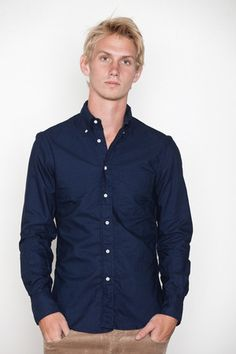 Vintage overdyed oxford shirt