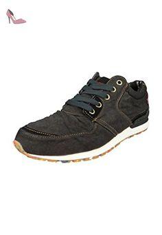 Levis formatori Ny Runner Dull grigio grigio - 224483-802-58, Levi´s Schuhe Herren:45 - Chaussures levis (*Partner-Link)