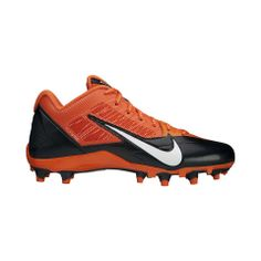 Nike Alpha Pro TD (NFL Bengals) Men's Football Cleat | $95 | gifts for sporty guys | mens football cleats | athletic | sports | football | menswear | mens style | mens fashion | wantering http://www.wantering.com/mens-clothing-item/nike-alpha-pro-td-nfl-bengals-mens-football-cleat/ag86b/