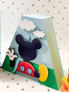 Mickey Mouse letters #mickeymousebirthday