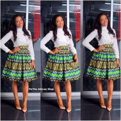Special Offer 15  Off NEW Mika Skirt by THEAFRICANSHOP on Etsy, £28.00