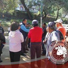 LA DELEGACIÓN XOCHIMILCO TRABAJA EN REHABILITACIÓN DE VIALIDAD AFECTADA POR SOCAVÓN