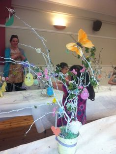 Children's willow basket making classes 2014.
