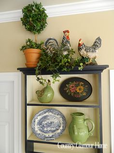 Country Glamour Home: For the Love of Roosters