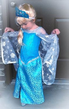 Elsa Frozen Ice Dress PDF Pattern Pattern Sizes by joy2sew - annabelle's favorite due to fabric choice