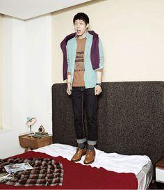 JYJ Micky Yuchun Black Medium Short Bangs Straight