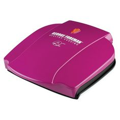 Pink George Foreman grill. Obviously