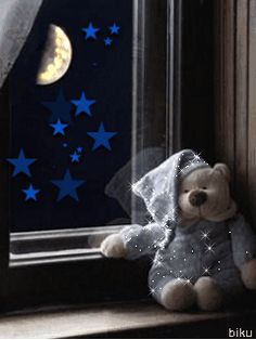 The perfect Dobranoc Bear Moon Animated GIF for your conversation. Discover and Share the best GIFs on Tenor. Good Night Messages, Good Night Wishes, Good Night Sweet Dreams, Good Night Image, Good Night Quotes, Good Morning Good Night, Gif Animé, Animated Gif, Bear Gif