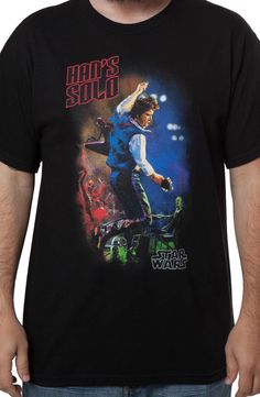 Hans Solo T-Shirt: 80s Movies Star Wars, Han Solo T-shirt