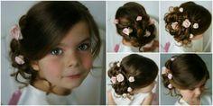 Little bridesmaids hair