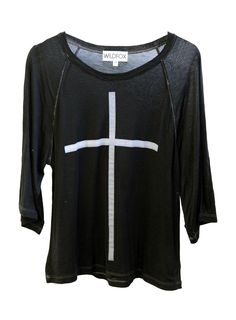 ff72e50d96 SKINNY CROSS at Wildfox Couture in BLACK