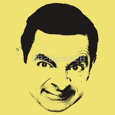 Mr Bean sticker