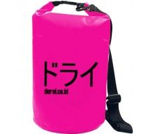 Dorai dry bag - pink waterproof dry bag