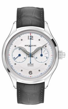 f0b7a1862d88e TimeZone : Industry News » SIHH 2019 - Montblanc Heritage Monopusher  Chronograph Mont Blanc, Chronograph