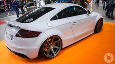 Audi TT RS 2009 Audi Tt, Audi Cars, Tt Tuning, Vw Transporter Van, Car Wheels, Car Photos, Hot Cars, Custom Cars, Motor Car