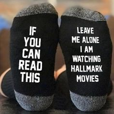 Hallmark Movies Socks Who doesn't love Hallmark Christmas movies. Why don't have these AWESOME socks while binge watch all those great movies? Unisex-One size fits all! Diy Christmas Gifts, Christmas Time, Holiday Gifts, Christmas Decorations, Christmas Stuff, Christmas Ideas, Christmas Print, Christmas Outfits, Christmas Vacation