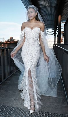 Steven Khalil #WeddingGown |  #Wedding Re-pinned from Forever Friends Fine Stationery & Favors http://foreverfriendsfinestationeryandfavors.com