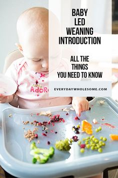 Baby Led Weaning hacks I learned along the way with 3 kids. I was more nervous w… Baby Led Weaning Baby Led Weaning First Foods, Baby First Foods, Baby Led Weaning 7 Months, Baby Lef Weaning, Baby Weaning Recipes 6 Months, Weaning Toddler, Baby Finger Foods, Baby Monat Für Monat, Fingerfood Baby