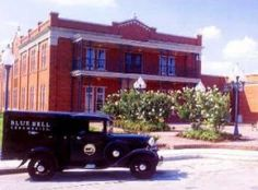 Blue Bell Ice Cream Factory, Brenham, Texas