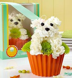 1-800-flowers has arrangements for the dog lover