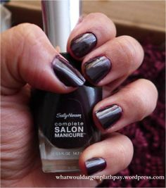 Sally Hansen Complete Salon Manicure Review - Pat on the Black