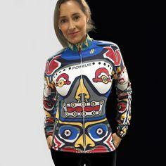 Totem cycling jersey by poseursport.com Alex Ostroy