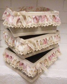 OlyaNail Manikur Omsk - Photo from album Burlap Crafts, Diy Home Crafts, Decor Crafts, Sewing Crafts, Jute Flowers, Diy Flowers, Flower Diy, Wedding Centerpieces Mason Jars, Cardboard Box Crafts