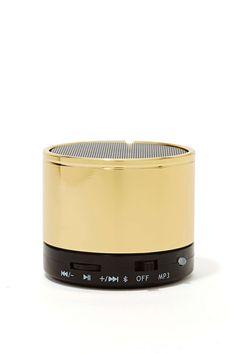 Gold Standard Bluetooth Speaker