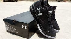 e7be65ebc5c6 Free Shipping Only 69  Under Armour Curry 1 One Low Black SiLVSer
