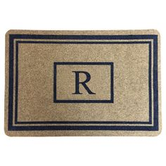 Threshold Monogram Doormat -