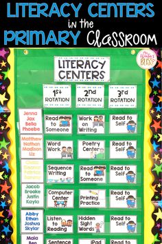 Launching Literacy Centers in the Primary Classroom