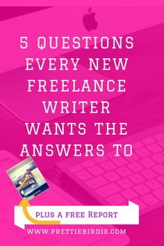 When first embarking on a freelance writing career, every freelance writer has questions about what the industry is like and where they fit in it. I've taken the time to put together a few questions that will definitely answer this for you and give you a clearer view on what the Freelanc
