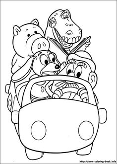 Free Toy Story Coloring Pages! Toy Story Coloring Pages! Potatohead, Forky and more from the movie. Toy Story Coloring Pages, Free Adult Coloring Pages, Cartoon Coloring Pages, Coloring Pages To Print, Free Printable Coloring Pages, Coloring For Kids, Colouring Pages, Coloring Books, Colouring Sheets