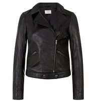 Black Imani Biker | Casual Jackets | Coats and Jackets | Hobbs