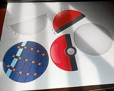 Get your very own Pokeball Printable (PDF file). Including several Pokemon printables.
