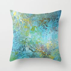 'Frosted Illusions' throw pillow by LLL Creations.  This design is available in many different products.    #society6 #society6_products #LLLCreations #throwpillows