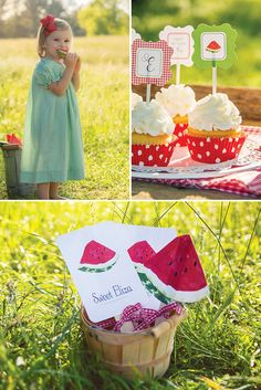 Sweet Watermelon Picnic {2nd Birthday}