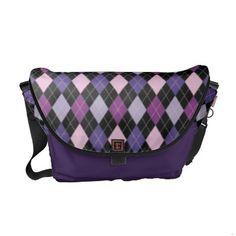 http://www.zazzle.com/retro_argyle_trendy_fun_purple_passion_rickshaw_messenger_bag-210105503697223375?rf=238027039487186211&CMPN=zBookmarklet