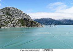 Mountains and water of Glacier Bay National Park, Alaska